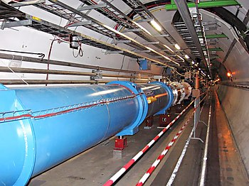 Partikelacceleratorn Large Hadron Collider